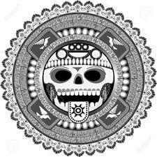 Calaveritas Aztecas