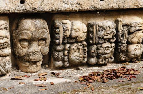 calaveras aztecas imágenes