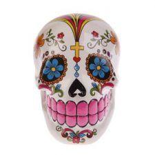 ¡No te quedes sin tus calaveras mexicanas! Tenemos las más coloridas del mercado