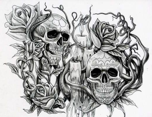 Historia de las Calaveras tatuadas
