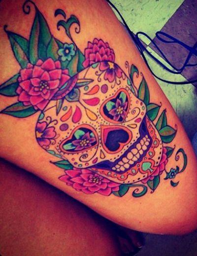 Tatuajes de calaveras al estilo mexicano