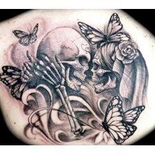 Diseños exclusivos de tatuajes de calaveras