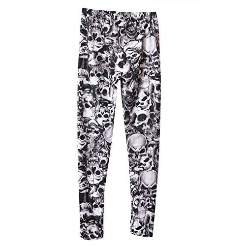 💀 Pantalones de Calaveras para los más modernos y expresivos