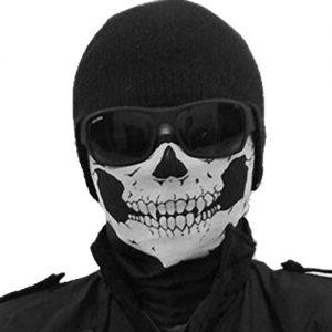Calavera-Magic-bufandapauelos-resistente-al-viento-negro-tribal-Calavera-Classic--la-mitad-de-la-cara-mscara-mscara-facial-Headwear-motocicleta-ATV-Biker-Ciclismo-0