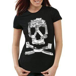 Camiseta para mujer gamer