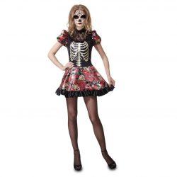 disfraz muñeca dia de los muertos