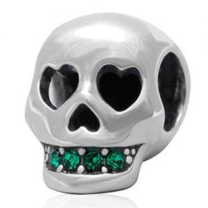soulbead-Love-You-A-La-Muerte-Calavera-autntica-plata-de-ley-925-cristal-joyas-para-pulsera-0